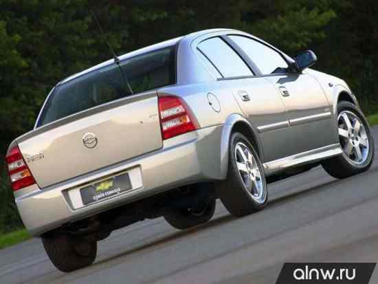 Программа диагностики Chevrolet Astra  Седан