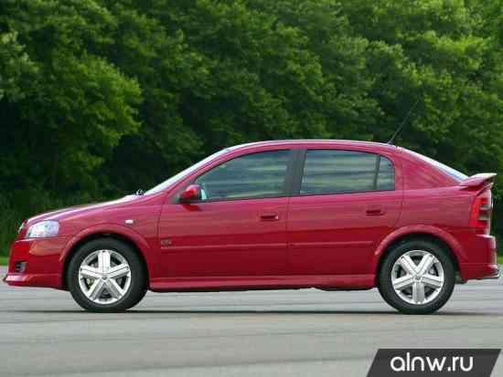 Каталог запасных частей Chevrolet Astra  Хэтчбек 5 дв.