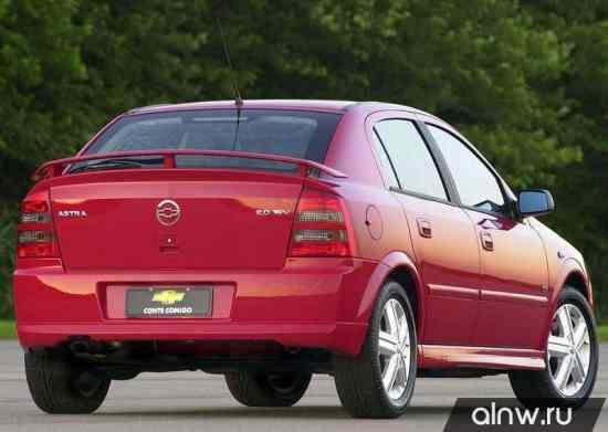 Программа диагностики Chevrolet Astra  Хэтчбек 5 дв.