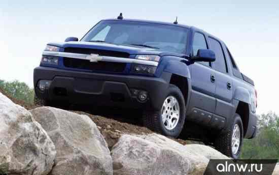 Chevrolet Avalanche I Пикап Двойная кабина
