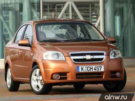 Chevrolet Aveo I Рестайлинг Седан