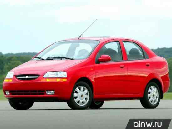 Chevrolet Aveo I Седан