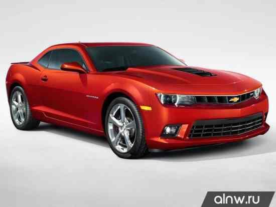 Руководство по ремонту Chevrolet Camaro V Рестайлинг Купе