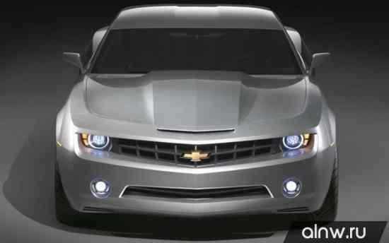 Инструкция по эксплуатации Chevrolet Camaro V Купе