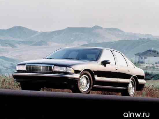 Инструкция по эксплуатации Chevrolet Caprice IV Седан