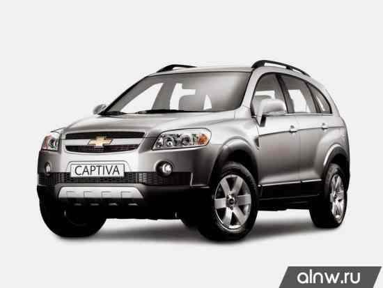 Руководство по ремонту Chevrolet Captiva I Внедорожник 5 дв.