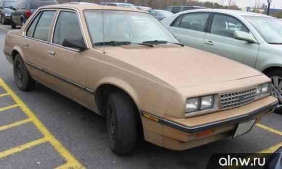 Руководство по ремонту Chevrolet Cavalier I Седан