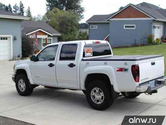 Инструкция по эксплуатации Chevrolet Colorado  Пикап Двойная кабина