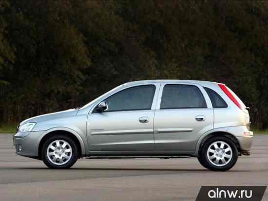 Каталог запасных частей Chevrolet Corsa  Хэтчбек 5 дв.