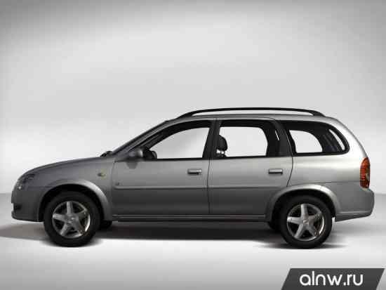 Инструкция по эксплуатации Chevrolet Corsa  Универсал 5 дв.