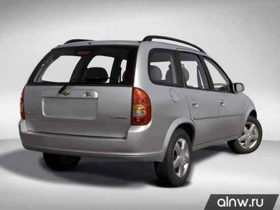 Каталог запасных частей Chevrolet Corsa  Универсал 5 дв.