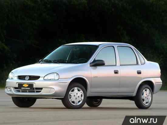 Каталог запасных частей Chevrolet Corsa  Седан