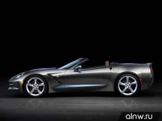 Каталог запасных частей Chevrolet Corvette C7 Stingray Кабриолет
