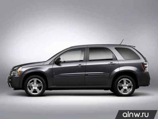 Каталог запасных частей Chevrolet Equinox I Внедорожник 5 дв.