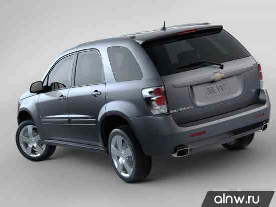 Программа диагностики Chevrolet Equinox I Внедорожник 5 дв.