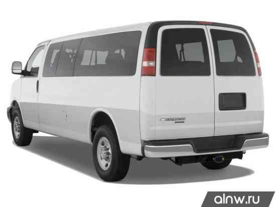 Инструкция по эксплуатации Chevrolet Express II Минивэн