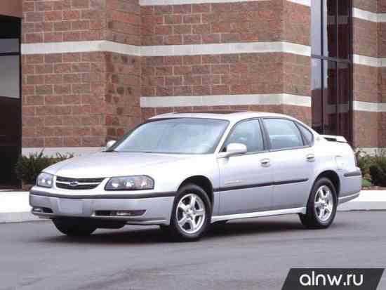 Инструкция по эксплуатации Chevrolet Impala VIII Седан