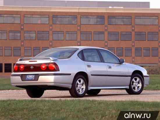 Каталог запасных частей Chevrolet Impala VIII Седан