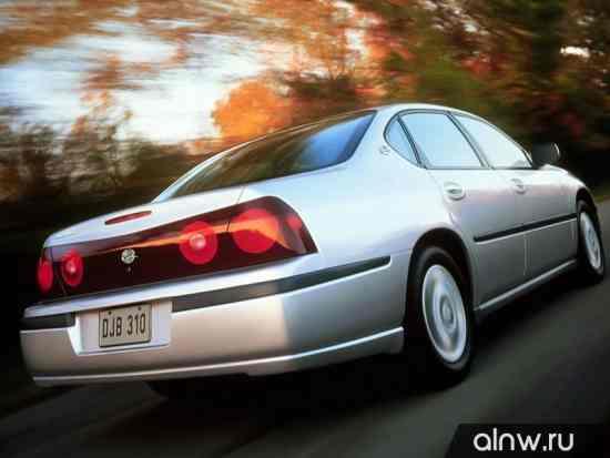 Программа диагностики Chevrolet Impala VIII Седан