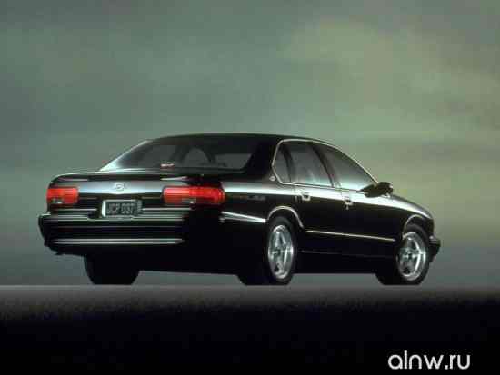 Программа диагностики Chevrolet Impala VII Седан