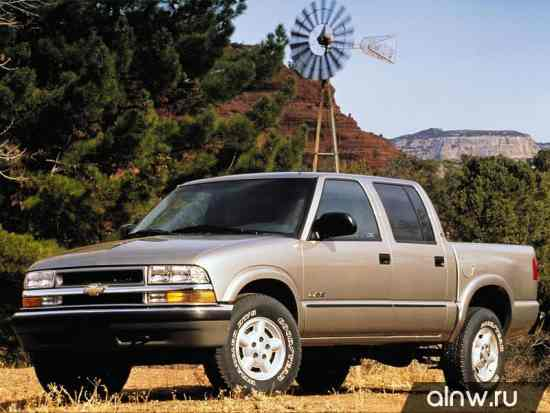 Chevrolet S-10 Pickup  Пикап Двойная кабина