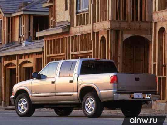 Каталог запасных частей Chevrolet S-10 Pickup  Пикап Двойная кабина