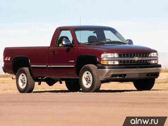 Каталог запасных частей Chevrolet Silverado I (GMT800) Пикап Одинарная кабина