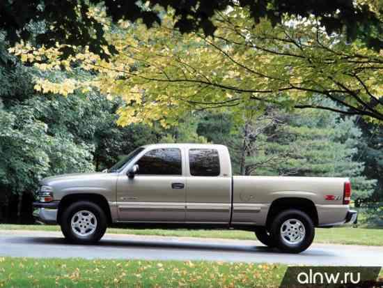 Инструкция по эксплуатации Chevrolet Silverado I (GMT800) Пикап Полуторная кабина