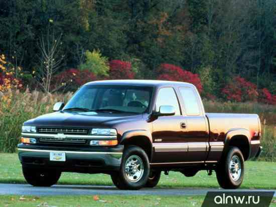 Каталог запасных частей Chevrolet Silverado I (GMT800) Пикап Полуторная кабина
