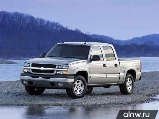 Chevrolet Silverado I (GMT800) Пикап Двойная кабина