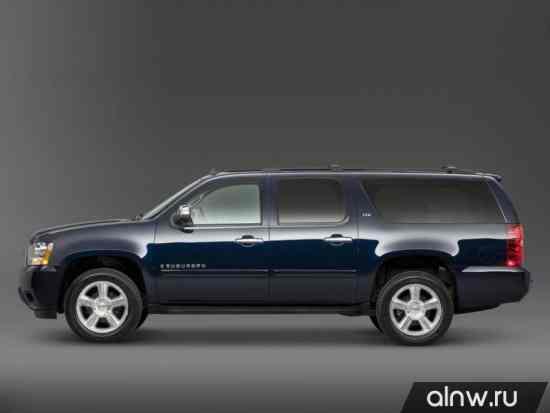 Каталог запасных частей Chevrolet Suburban XI Внедорожник 5 дв.