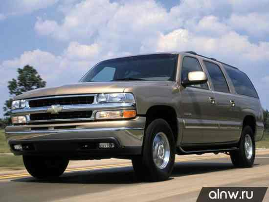 Chevrolet Suburban X Внедорожник 5 дв.