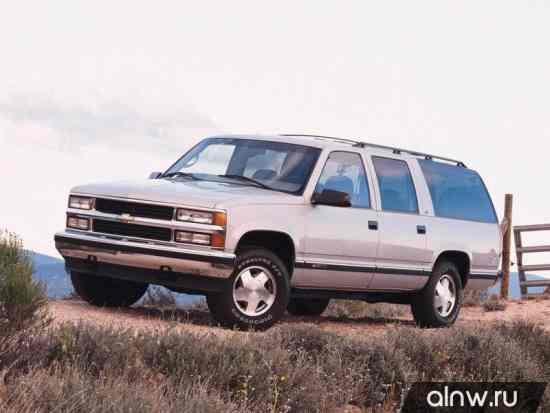 Chevrolet Suburban IX Внедорожник 5 дв.