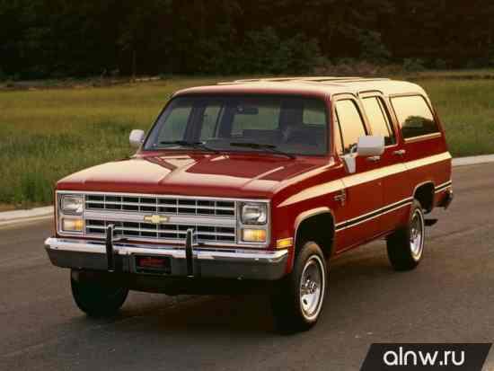 Chevrolet Suburban VIII Внедорожник 5 дв.