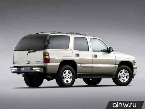 Программа диагностики Chevrolet Tahoe II Внедорожник 5 дв.