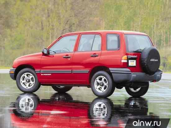 Каталог запасных частей Chevrolet Tracker I Внедорожник 5 дв.