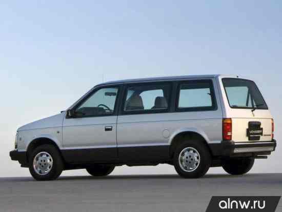 Каталог запасных частей Chrysler Voyager I Минивэн