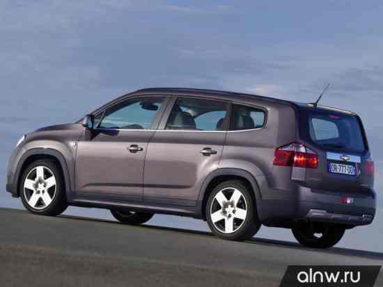 Каталог запасных частей Chevrolet Orlando