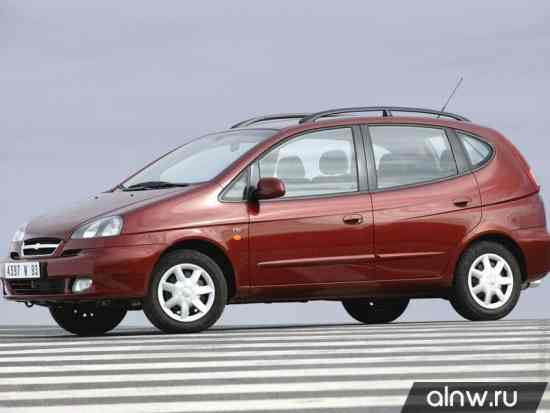 Каталог запасных частей Chevrolet Rezzo