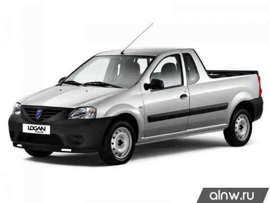 Dacia Logan I Пикап Одинарная кабина