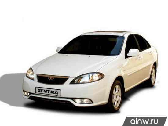 Руководство по ремонту Daewoo Gentra II Седан