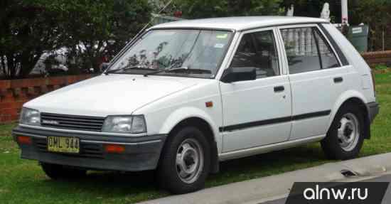 Daihatsu Charade II Хэтчбек 5 дв.