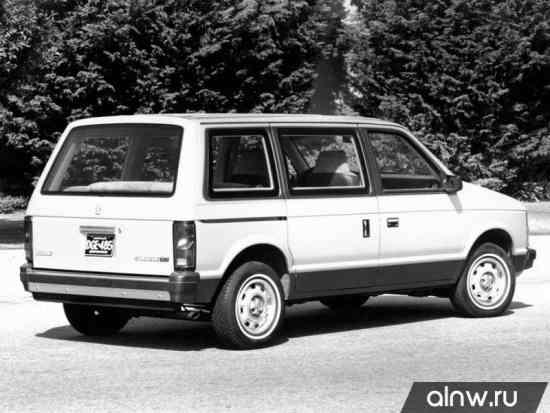 Каталог запасных частей Dodge Caravan I Минивэн