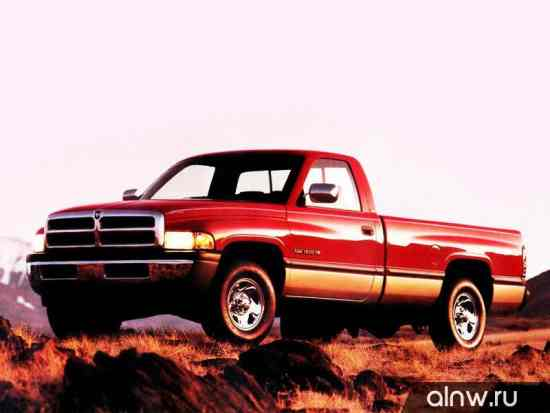 Руководство по ремонту Dodge RAM II (BR/BE) Пикап Одинарная кабина