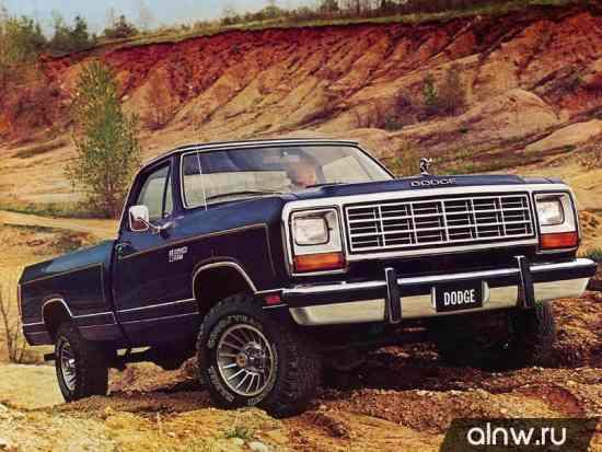 Dodge RAM I (D/W) Пикап Одинарная кабина