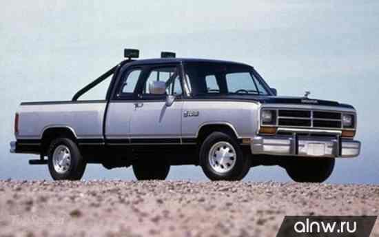 Dodge RAM I (D/W) Пикап Полуторная кабина