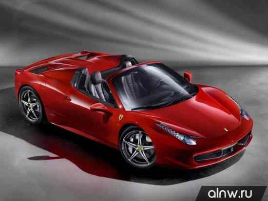 Ferrari 458  Родстер