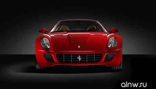Каталог запасных частей Ferrari 599  Купе