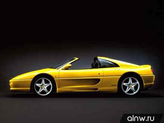 Каталог запасных частей Ferrari F355  Родстер