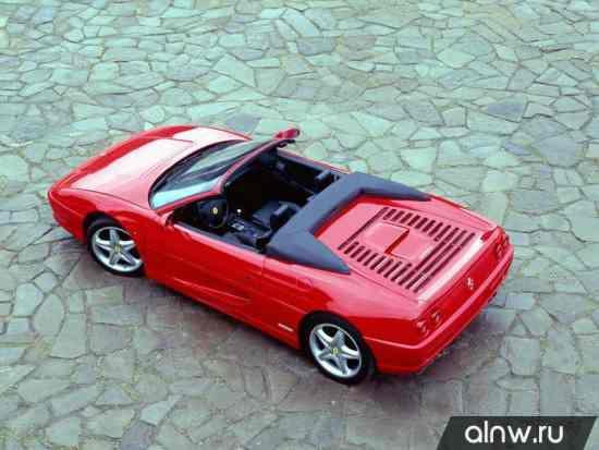 Каталог запасных частей Ferrari F355  Тарга